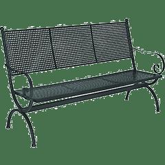 Gartenbänke aus Eisen