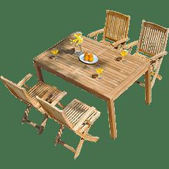 Gartenmöbel Set Teak