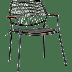Gartensessel Metall Holz