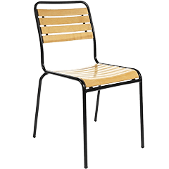 Gartenstühle Metall Holz