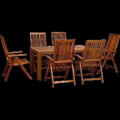 Gartenmöbel Sets Holz
