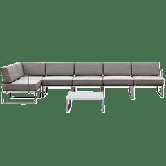 Lounge Sets Edelstahl