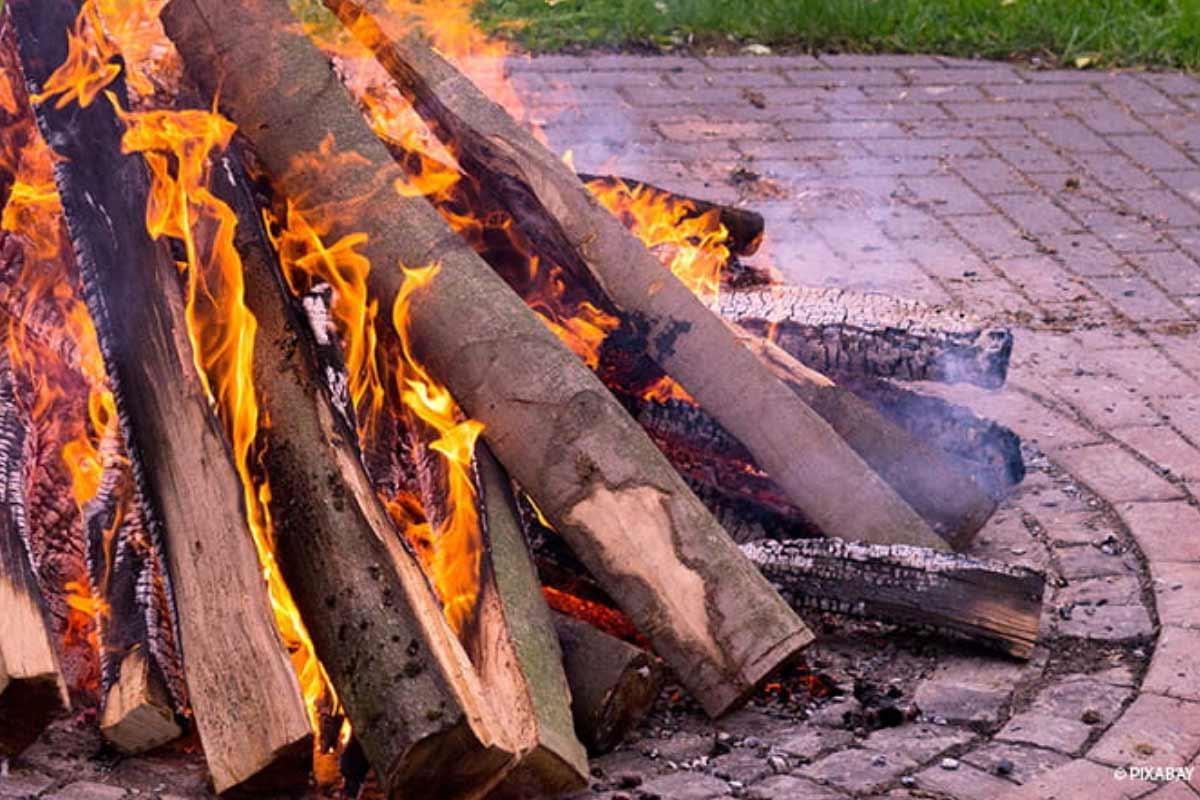 Feuerstelle Selber Bauen Garten Und Freizeit